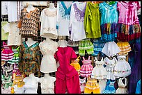 Dresses for sale, La Bufadora. Baja California, Mexico ( color)