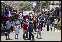 Flee market, La Bufadora. Baja California, Mexico (color)