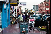 Main shopping street, Ensenada. Baja California, Mexico (color)