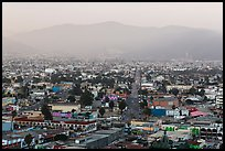Ensenada seen from El Mirador. Baja California, Mexico ( color)