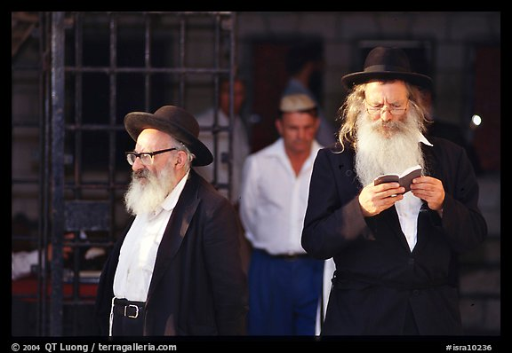 Orthodox Jews. Jerusalem, Israel (color)