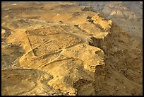 The site of the former Roman Camp, Masada. Israel (color)
