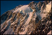 Grand Pilier d'Angle. Mont-Blanc range, French Alps
