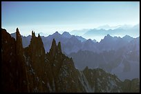 Aiguilles du Diable. Alps, France (color)