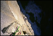 Belaying from Anchorage ledge