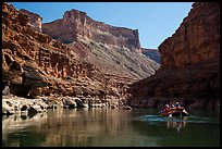 Rafting in in Marble Canyon. Grand Canyon National Park, Arizona ( color)