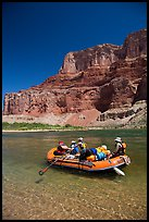 Raft and Nankoweap cliffs. Grand Canyon National Park, Arizona ( color)