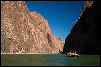 Raft in Granite Gorge. Grand Canyon National Park, Arizona (        <!-- end content area-->   <div class =