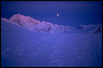 At begining June, there is no more night at these latitudes, just a very pure lingering light. Denali, Alaska