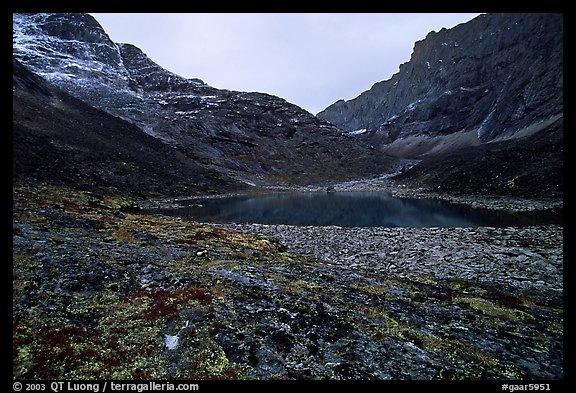 Aquarious Lake III. Gates of the Arctic National Park (color)