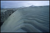 Ash dune formation, Valley of Ten Thousand smokes. Katmai National Park ( color)
