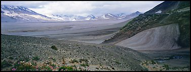 Valley of Ten Thousand Smokes. Katmai National Park (Panoramic color)