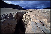 Deep gorge carved by the Lethe River, Valley of Ten Thousand Smokes. Katmai National Park ( color)