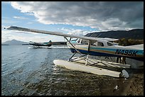 Floatplanes, Lake Brooks. Katmai National Park ( color)