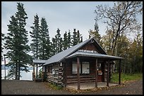 Brooks Camp Visitor Center. Katmai National Park ( color)