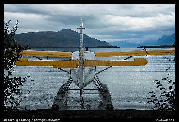 Floatplane facing Naknek Lake. Katmai National Park (color)