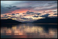 Dawn, Naknek Lake. Katmai National Park ( color)