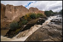 Ukak Falls, Valley of Ten Thousand Smokes. Katmai National Park ( color)