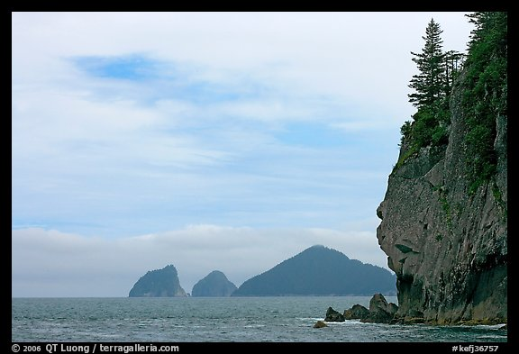 Chiswell Islands. Kenai Fjords National Park (color)