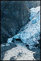 Base of Exit Glacier, 2016. Kenai Fjords National Park ( color)