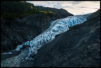 Exit Glacier, 2016. Kenai Fjords National Park ( color)