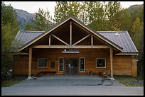Exit Glacier Nature Center. Kenai Fjords National Park ( color)