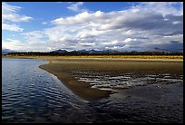 Sand bar on the Kobuk River. Kobuk Valley National Park ( color)