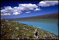Turquoise Lake. Lake Clark National Park ( color)