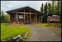 Visitor Center. Lake Clark National Park ( color)