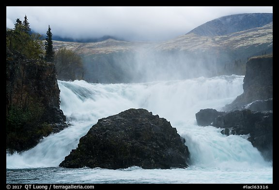 Tanalian Falls. Lake Clark National Park (color)