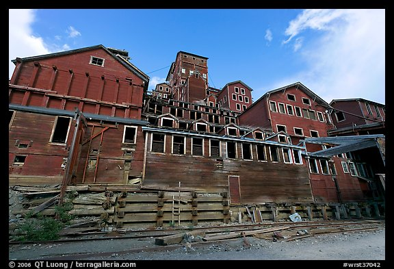 Historic Kennecott Mill. Wrangell-St Elias National Park (color)