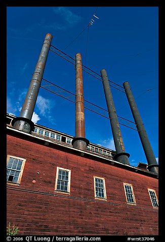 Historic Kennecott power plant. Wrangell-St Elias National Park (color)
