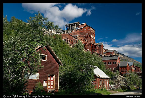 Kennecott mill town. Wrangell-St Elias National Park (color)