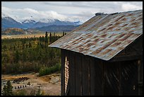 Mill above Nabesna River Valley. Wrangell-St Elias National Park ( color)