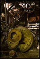 Ball mill, Nabesna Mine. Wrangell-St Elias National Park ( color)