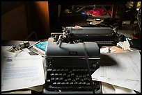 Typewriter with letter dated 1964. Wrangell-St Elias National Park ( color)