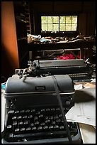 Typewriter in abandonned cabin. Wrangell-St Elias National Park ( color)