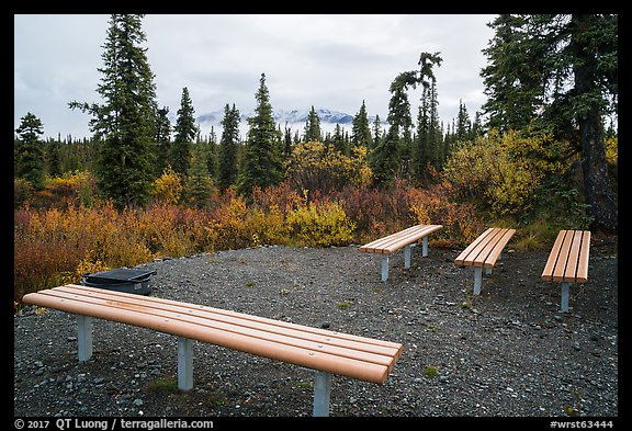 Amphitheater, Kendesnii campground. Wrangell-St Elias National Park (color)