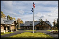 Visitor Center. Wrangell-St Elias National Park ( color)