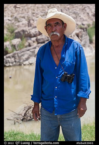 Mexican national. Big Bend National Park (color)