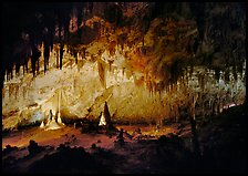Papoose Room. Carlsbad Caverns National Park ( color)
