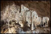 Painted Grotto. Carlsbad Caverns National Park ( color)