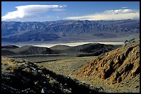 Valley viewed from foothills. Death Valley National Park, California, USA.