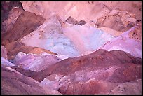 Colorful mineral deposits in Artist's palette. Death Valley National Park, California, USA. (color)