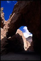 Natural bridge. Death Valley National Park, California, USA. (color)