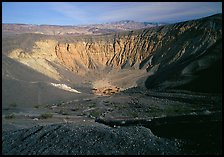 Ubehebe Crater. Death Valley National Park, California, USA. (color)