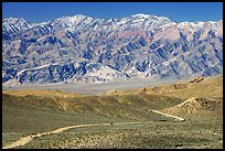 Mountains above Emigrant Pass. Death Valley National Park, California, USA.