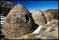 Charcoal kilns. Death Valley National Park, California, USA. (color)