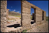 Ruins of Ashford Mill. Death Valley National Park, California, USA.