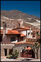Scotty's Castle. Death Valley National Park, California, USA. (color)
